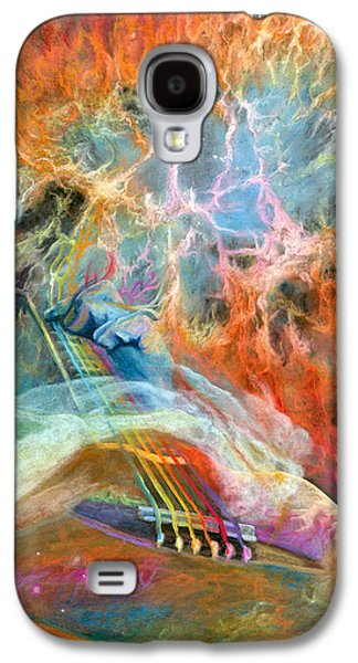 Brain Paintings Galaxy S4 Cases - Lullabies for Nebulas Galaxy S4 Case by Kd Neeley