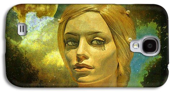 Luna Galaxy S4 Cases - Luna in the Garden of Evil Galaxy S4 Case by Chuck Staley