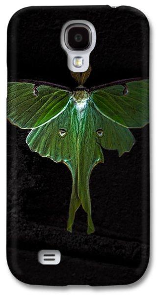 Luna Galaxy S4 Cases - Lunar Moth Galaxy S4 Case by Bob Orsillo