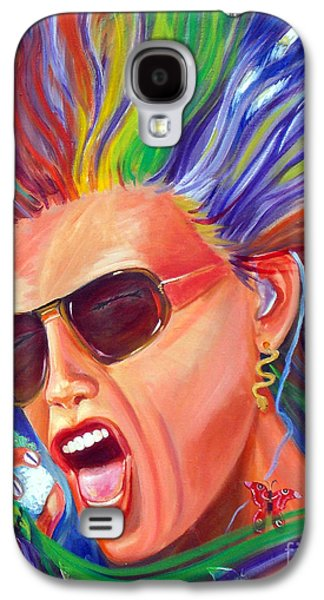 Steven Tyler Paintings Galaxy S4 Cases - Lunesta Galaxy S4 Case by To-Tam Gerwe