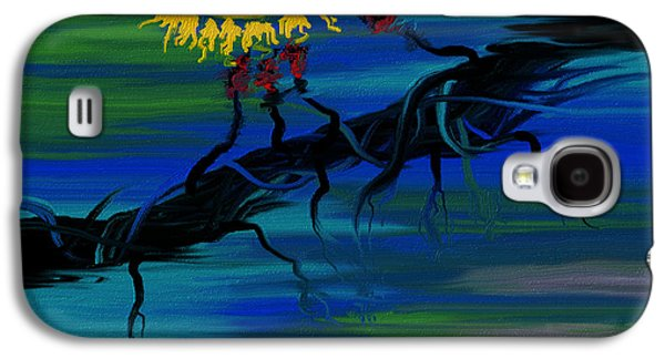 Abstract Digital Paintings Galaxy S4 Cases - Lupus Galaxy S4 Case by Judi Walters