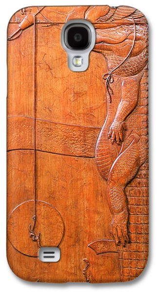 Bas Relief Reliefs Galaxy S4 Cases - Lurk Galaxy S4 Case by Jeremiah Welsh