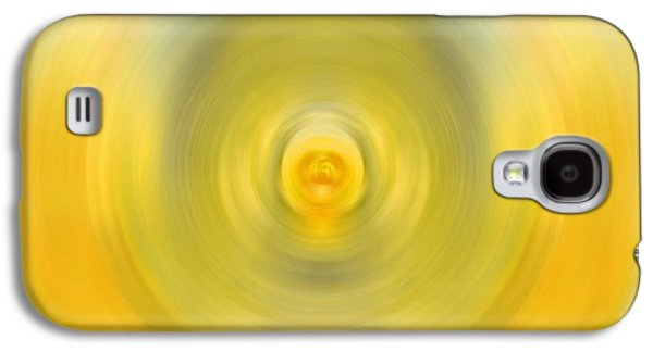 Abstract Expressionist Galaxy S4 Cases - Luscious Lemon - Abstract Art by Sharon Cummings Galaxy S4 Case by Sharon Cummings