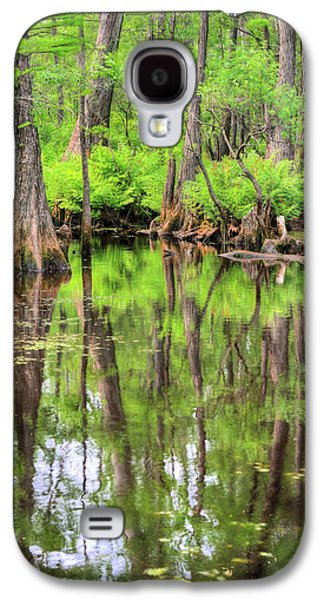 Cypress Swamp Galaxy S4 Cases - Lush Galaxy S4 Case by JC Findley
