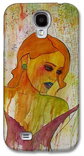 Girl Jewelry Galaxy S4 Cases - Lust Galaxy S4 Case by Tex Perle