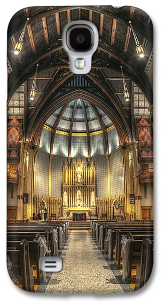 Refuge Galaxy S4 Cases - Luther Memorial Church Galaxy S4 Case by Scott Norris