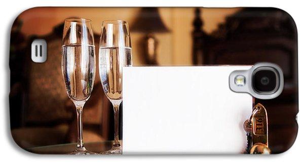 Wine Service Galaxy S4 Cases - Luxury hotel room Galaxy S4 Case by Michal Bednarek