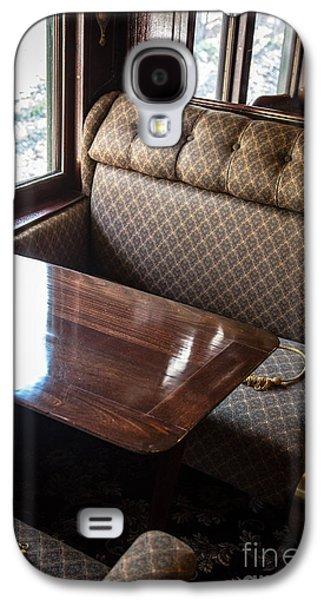 Seated Galaxy S4 Cases - Luxury Train Galaxy S4 Case by Edward Fielding
