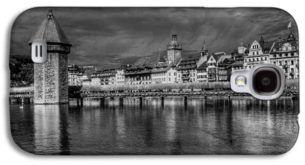 Lucerne Galaxy S4 Cases - Lucerne Reflected Galaxy S4 Case by Carol Japp