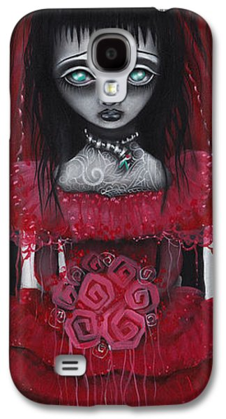 Tim Paintings Galaxy S4 Cases - Lydia Galaxy S4 Case by  Abril Andrade Griffith