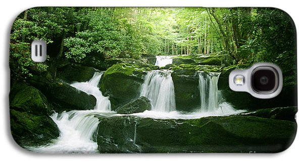 Lynn Camp Prong Falls Galaxy S4 Case by Arthaven Studios Teri Atkins Brown
