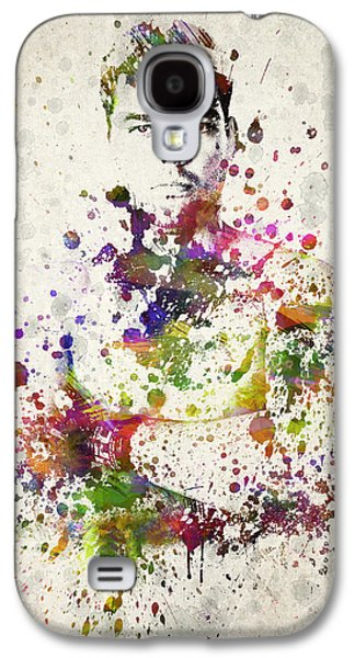 Athlete Digital Galaxy S4 Cases - Lyoto Machida Galaxy S4 Case by Aged Pixel