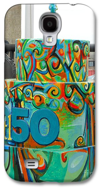 Abstracts Sculptures Galaxy S4 Cases - Lincoln Douglas Stl250 Cake Galaxy S4 Case by Genevieve Esson