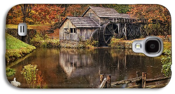Old Mill Scenes Photographs Galaxy S4 Cases - Mabry Mill Galaxy S4 Case by Priscilla Burgers