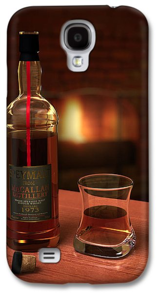 Man Cave Photographs Galaxy S4 Cases - Macallan 1973 Galaxy S4 Case by Adam Romanowicz