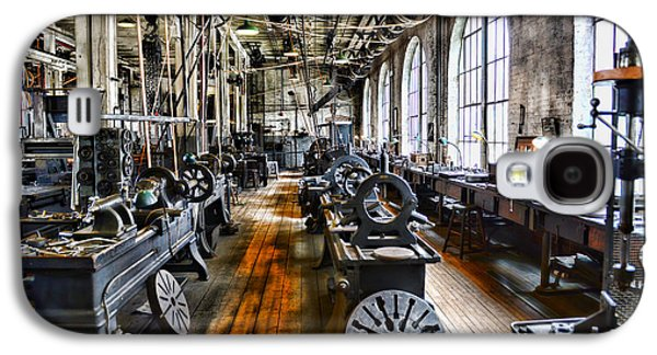 Machinery Galaxy S4 Cases - Machinist - Precision Matters Galaxy S4 Case by Paul Ward