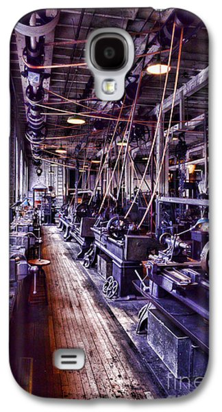 Machinery Galaxy S4 Cases - Machinist - The Work Shop Galaxy S4 Case by Paul Ward