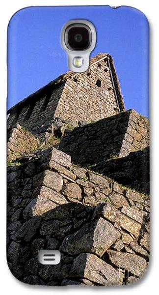 Ancient Galaxy S4 Cases - Machu Picchu Hut Peru Galaxy S4 Case by Ryan Fox