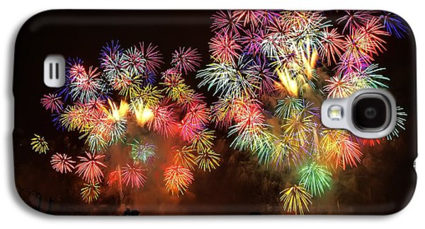 4th July Galaxy S4 Cases - Macys July 4th Fireworks New York City  Galaxy S4 Case by Nishanth Gopinathan