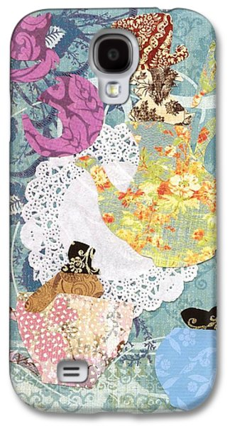 March Hare Galaxy S4 Cases - Mad Hatters Tea Party  Galaxy S4 Case by Savannah Bertozzi