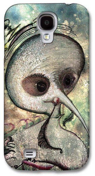 Deceptive Galaxy S4 Cases - MAD  Her evil astral soul Galaxy S4 Case by Raul Morales