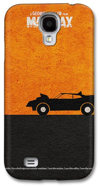 Sunset Posters Galaxy S4 Cases - Mad Max Galaxy S4 Case by Ayse Deniz