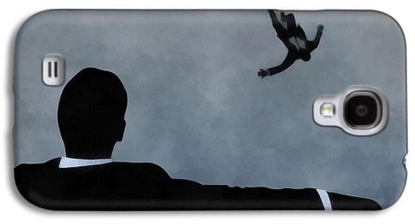 Mad Men Art Galaxy S4 Case by Dan Sproul