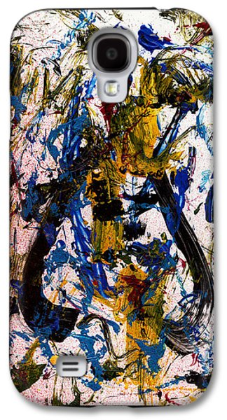 Swiss Mixed Media Galaxy S4 Cases - Mad Really Mad - White Galaxy S4 Case by Manuel Sueess