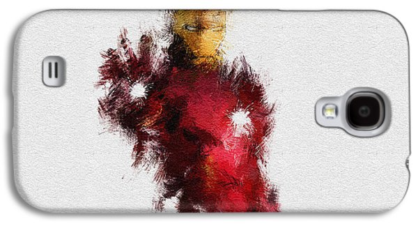 Icons Prints Paintings Galaxy S4 Cases - Made of Iron Galaxy S4 Case by Miranda Sether