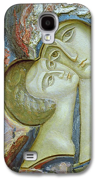 Orthodox Paintings Galaxy S4 Cases - Madonna and Child Galaxy S4 Case by Alek Rapoport