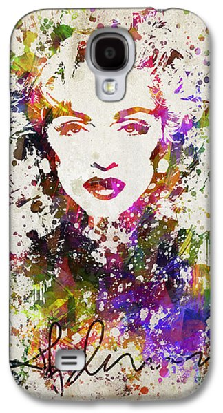 Madonna In Color Galaxy S4 Case by Aged Pixel