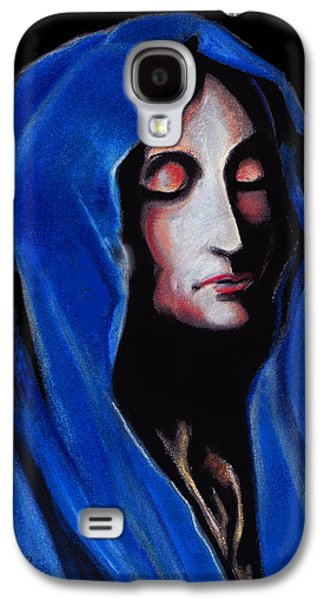 Spiritual Pastels Galaxy S4 Cases - Madonna of Sorrows Galaxy S4 Case by John Keaton