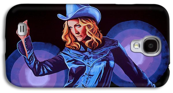 Madonna Painting Galaxy S4 Case by Paul Meijering