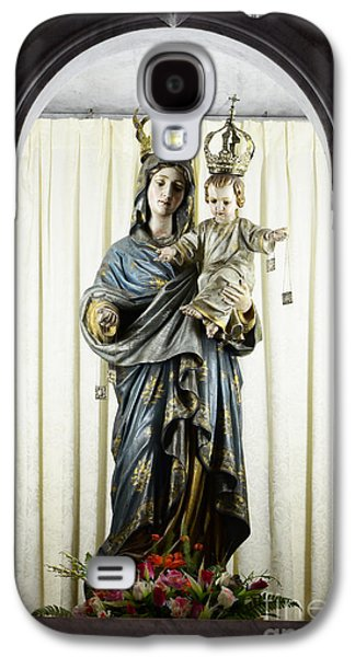 Holy Mother Galaxy S4 Cases - Madonna Sao Luis Brazil Galaxy S4 Case by Bob Christopher