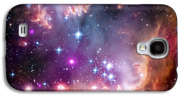 Constellations Galaxy S4 Cases - Magellanic Cloud 3 Galaxy S4 Case by The  Vault - Jennifer Rondinelli Reilly