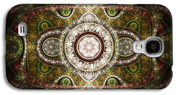 Persian Carpet Galaxy S4 Cases - Magic Carpet Galaxy S4 Case by Anastasiya Malakhova