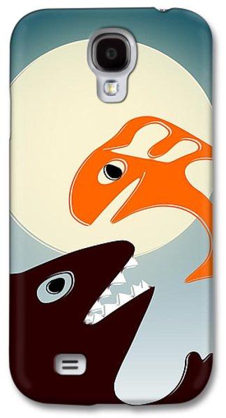 Digital Galaxy S4 Cases - Magic Fish Galaxy S4 Case by Anastasiya Malakhova