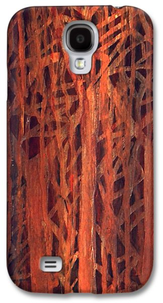 Nature Abstracts Galaxy S4 Cases - Magic Forest 2 Galaxy S4 Case by Dimitra Papageorgiou