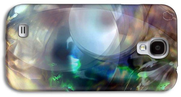 Abstract Digital Art Galaxy S4 Cases - Magic Glass II Galaxy S4 Case by Judy Paleologos