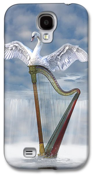 Digital Design Galaxy S4 Cases - Magic harp  Galaxy S4 Case by Angel Jesus De la Fuente