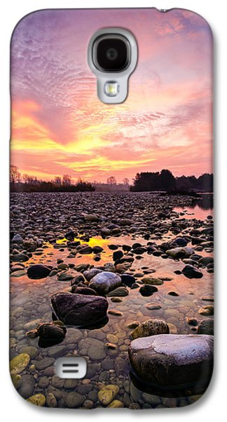 Landscapes Photographs Galaxy S4 Cases - Magic morning II Galaxy S4 Case by Davorin Mance
