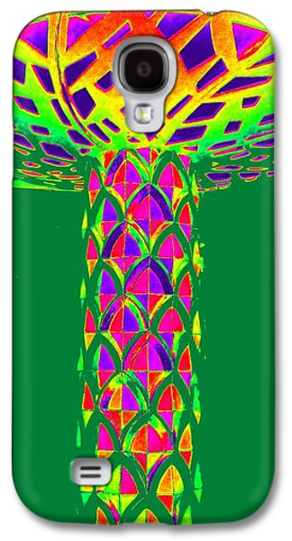 Mushroom Digital Art Galaxy S4 Cases - Magic Mushroom One Galaxy S4 Case by Randall Weidner