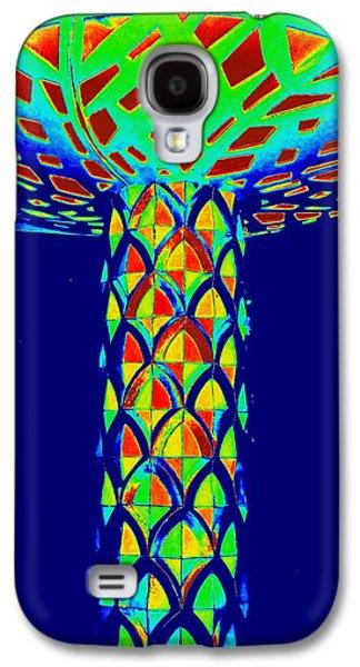 Mushroom Digital Art Galaxy S4 Cases - Magic Mushroom Three Galaxy S4 Case by Randall Weidner