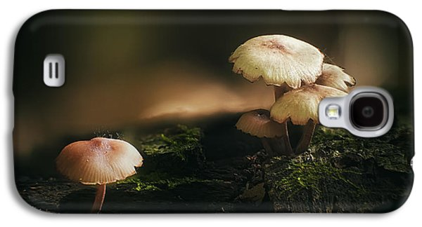 Forest Floor Galaxy S4 Cases - Magic Mushrooms Galaxy S4 Case by Scott Norris