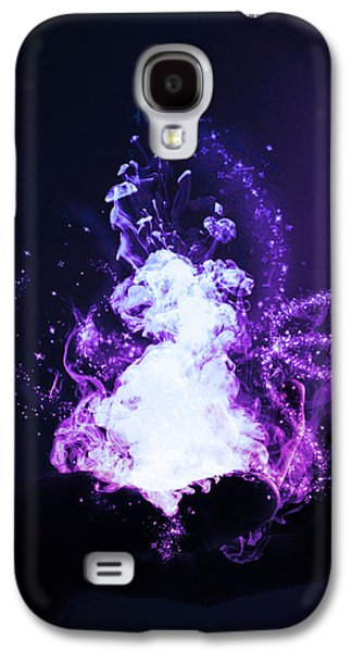 Smoke Digital Galaxy S4 Cases - Magic Galaxy S4 Case by Nicklas Gustafsson