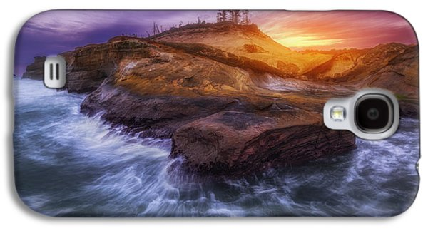 Landscape Metal Prints Galaxy S4 Cases - Magic of Kiwanda Galaxy S4 Case by Darren  White