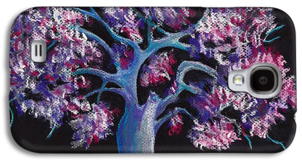 Nature Abstract Pastels Galaxy S4 Cases - Magic Tree Galaxy S4 Case by Anastasiya Malakhova