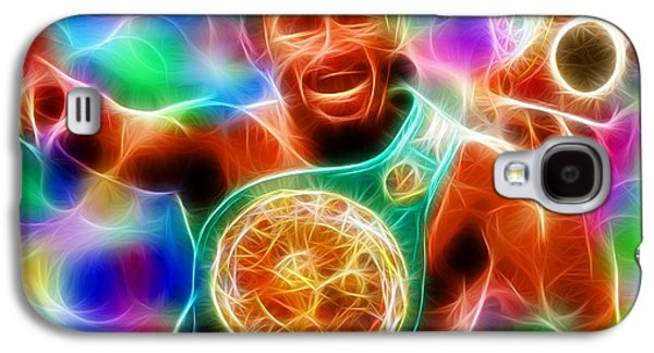 Boxer Drawings Galaxy S4 Cases - Magical Manny Pacquiao Galaxy S4 Case by Paul Van Scott