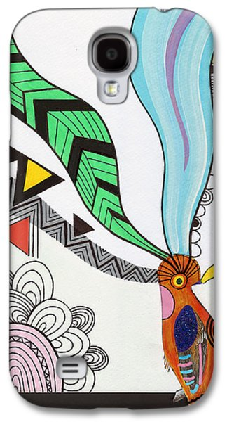 Drawing Galaxy S4 Cases - Magical Mind Galaxy S4 Case by Susan Claire