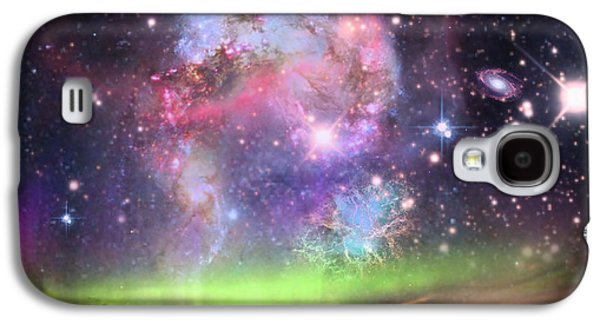 Creative Manipulation Galaxy S4 Cases - Jewels In The Sky Galaxy S4 Case by Ester  Rogers